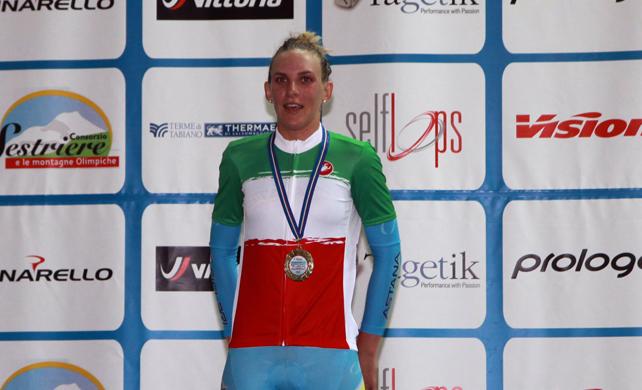 Simona Frapporti (fonte comunicato stampa)