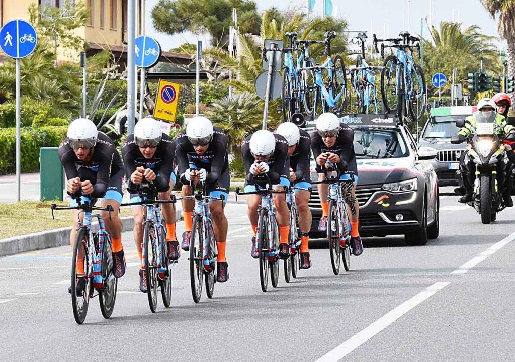 Team Colpack vince la crono (fonte comunicato stampa)