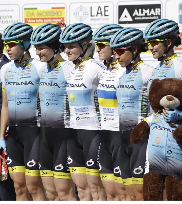 Astana Women's Team (fonte comunicato stampa)
