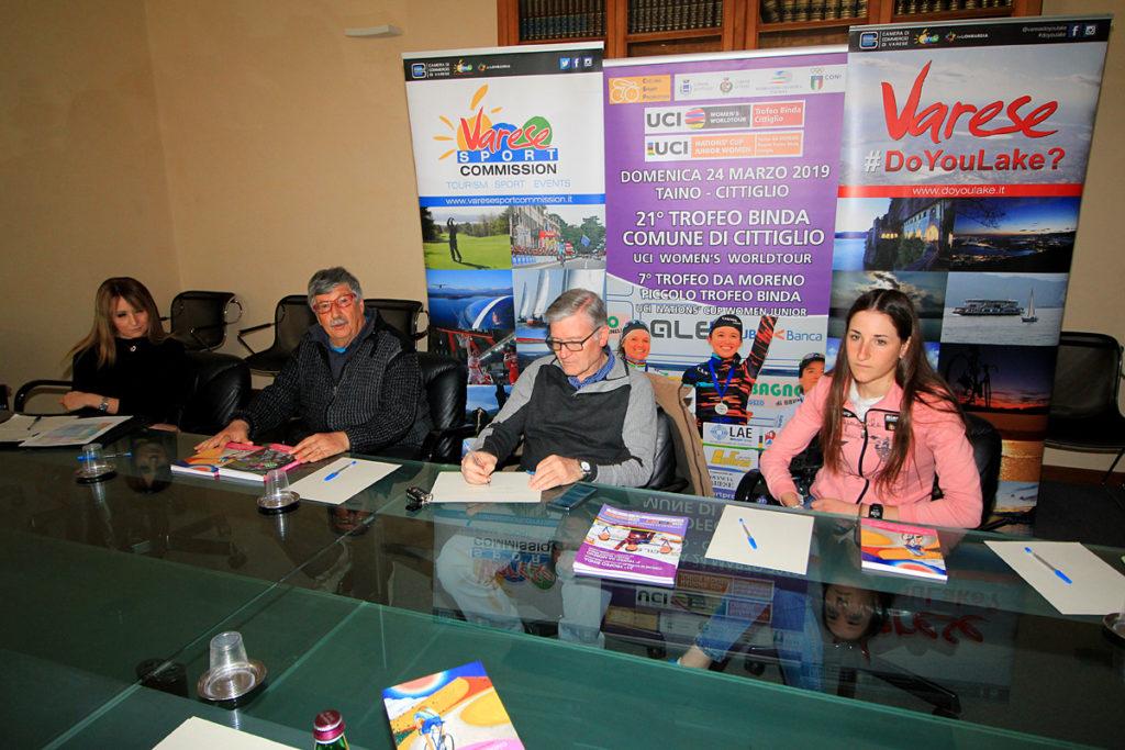Trofeo Binda e il Trofeo Da Moreno presentazione (fonte comunicato stampa)