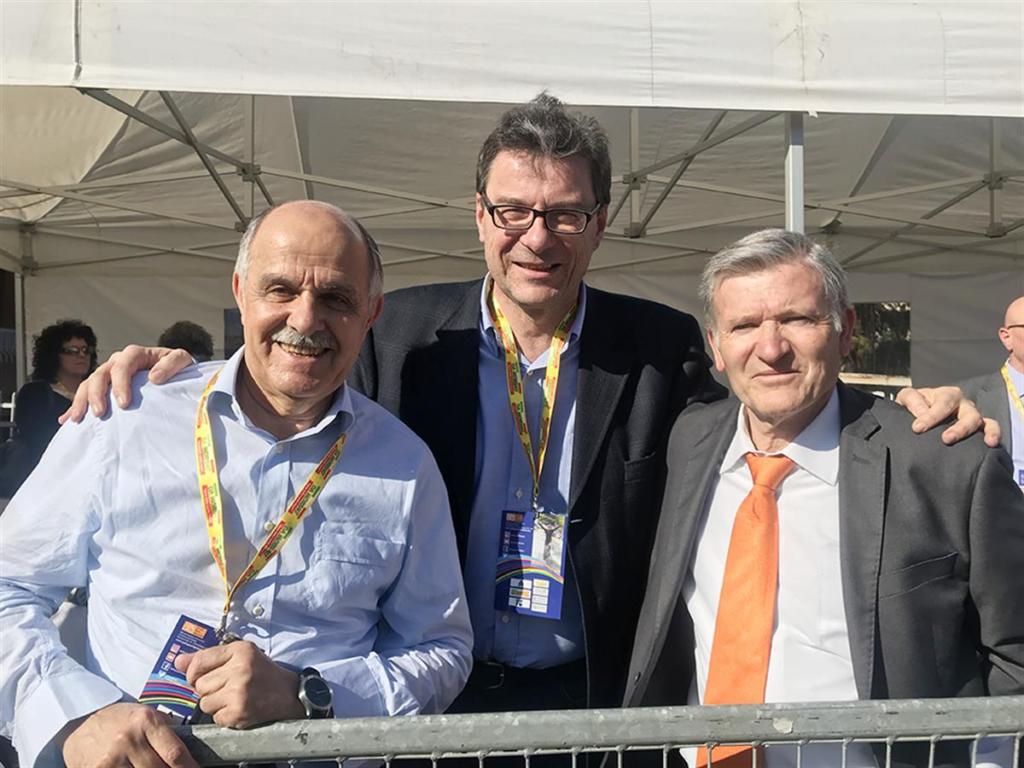 Renato Di Rocco, Giancarlo Giorgetti, Mario Minervino