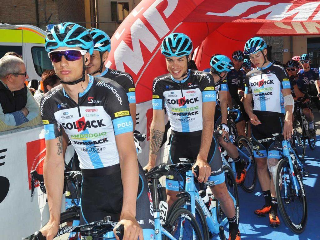 Colpack pronta per  Giro di Sicilia