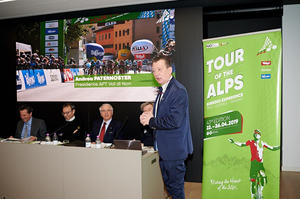Tour of the Alps diretta TV (fonte comunicato stampa)