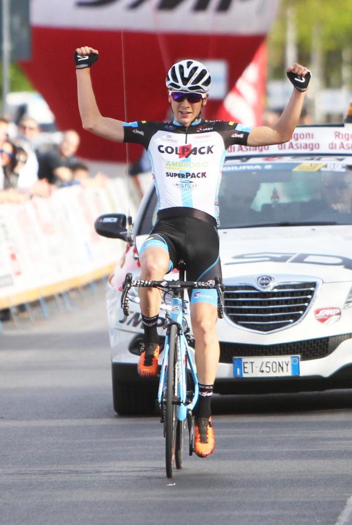 Andrea Bagioli al Trofeo Città di San Vendemiano
