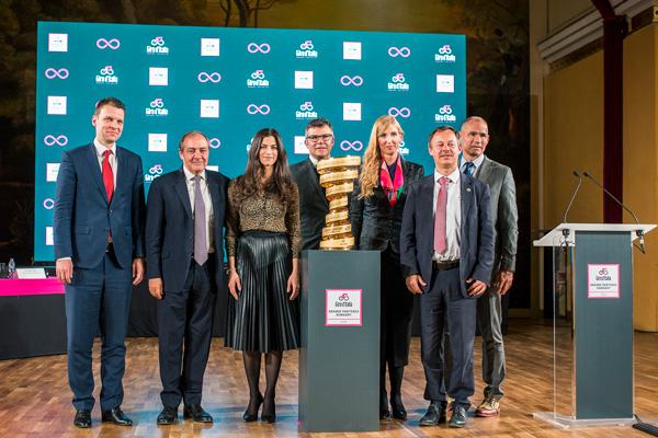 Giro d'Italia 2020 - partenza in Ungheria (fonte comunicato stampa)