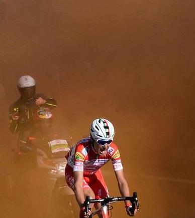 Daspo nel ciclismo per fumogeni