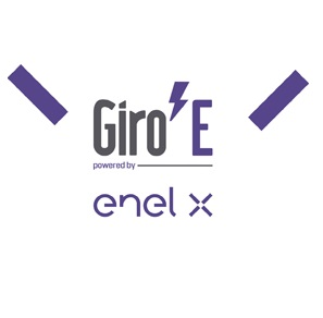 Giro E il logo