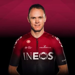 Chris Froome (fonte pagina Twitter)