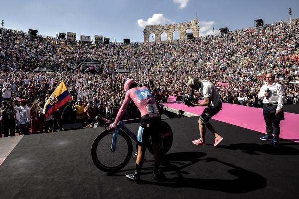 I numeri del Giro: fonte comunicato stampa Photo Marco Alpozzi/ LaPresse