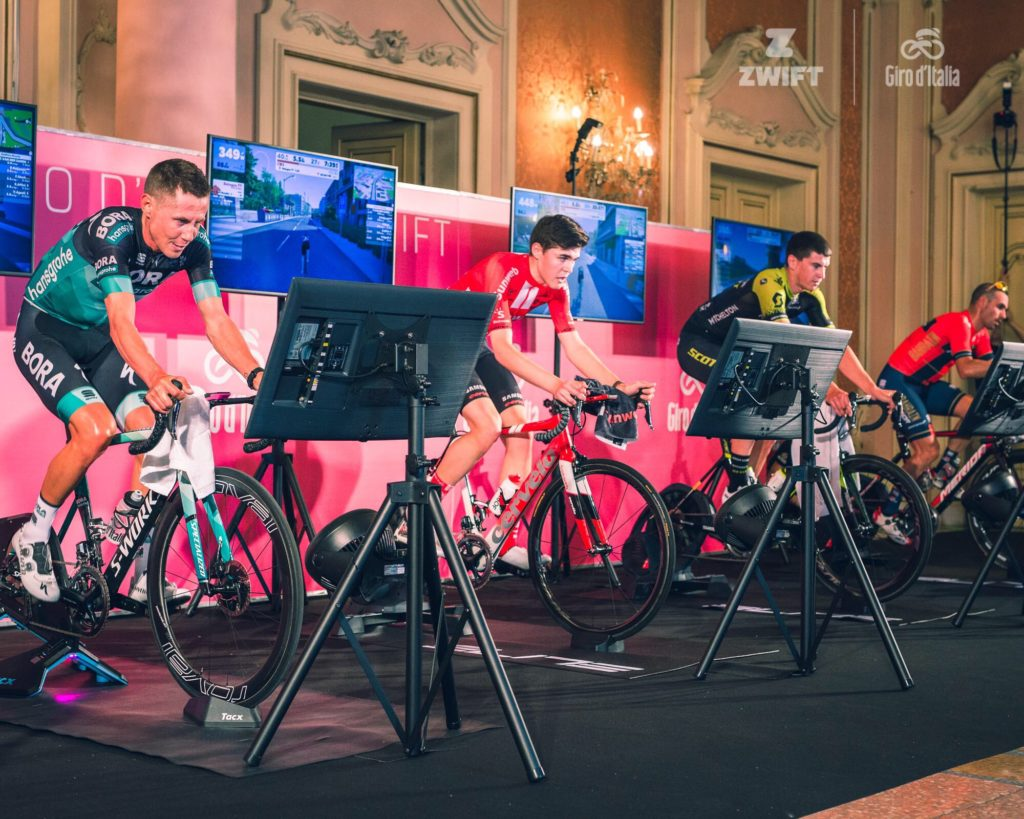 Giro 2020, prologo con Zwift?