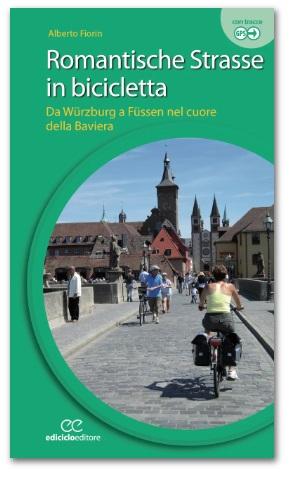 Romantische Strasse in bicicletta