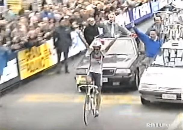 Milano-Sanremo 1991, vince Claudio Chiappucci