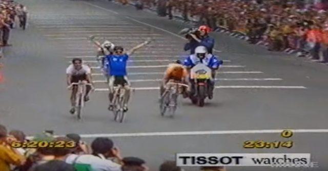 Campionato del Mondo 1991 vince Gianni Bugno