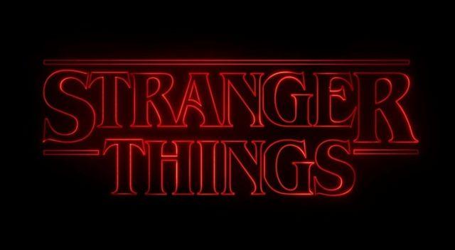 stranger things il logo