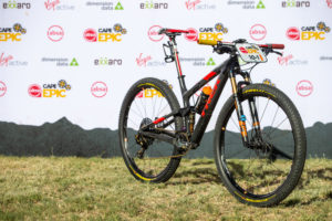 Pirelli Scorpion MTB tires on Trek bikes at the 2019 CAPE EPIC