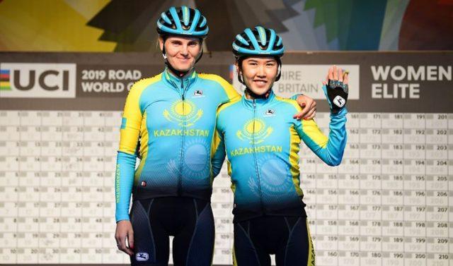 Saifutdinova e Umutzhanova all'ultimo Mondiale © UCI