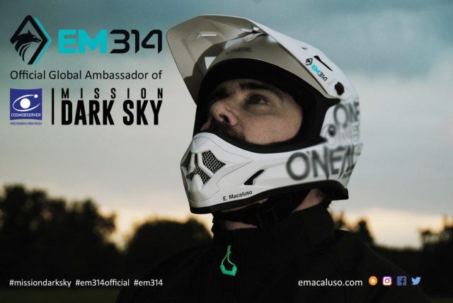 MISSION DARK SKY: Emmanuele Macaluso