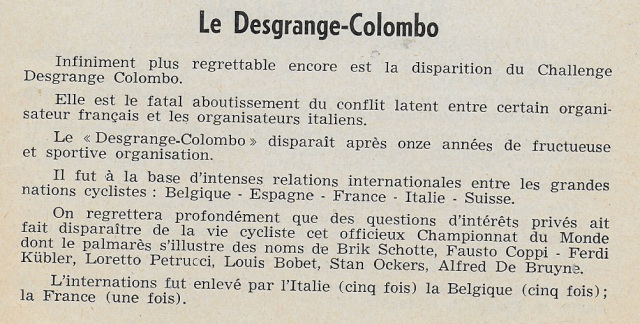 Challenge Desgrange-Colombo