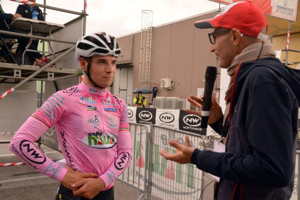 Jackob Dorigoni è il leader della generale Open al Giro d'Italia Ciclocross