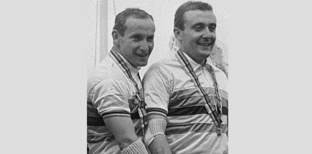 Dino Verzini e Bruno Gonzato (fonte pagina Facebook di Dino Verzini)