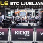 Wahoo e Speedplay per Alé BTC Ljubljana Cipollini