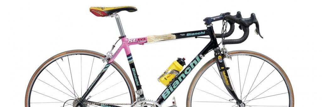 Aste Bolaffi, la bicicletta di Pantani (fonte sito Bolaffi)
