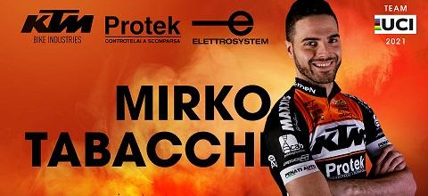 MIRKO TABACCHI continua con KTM PROTEK ELETTROSYSTEM