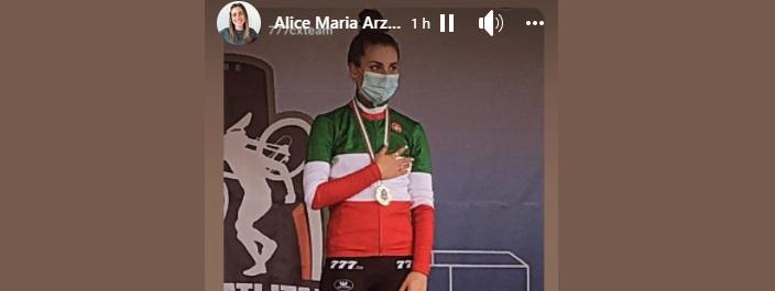 Alice Maria Arzuffi (fonte pagina Facebook)