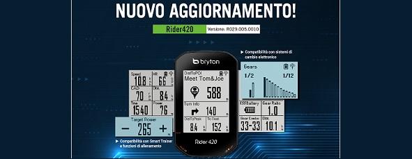 Bryton Rider 420 | Supporto ESS e Smart Trainer