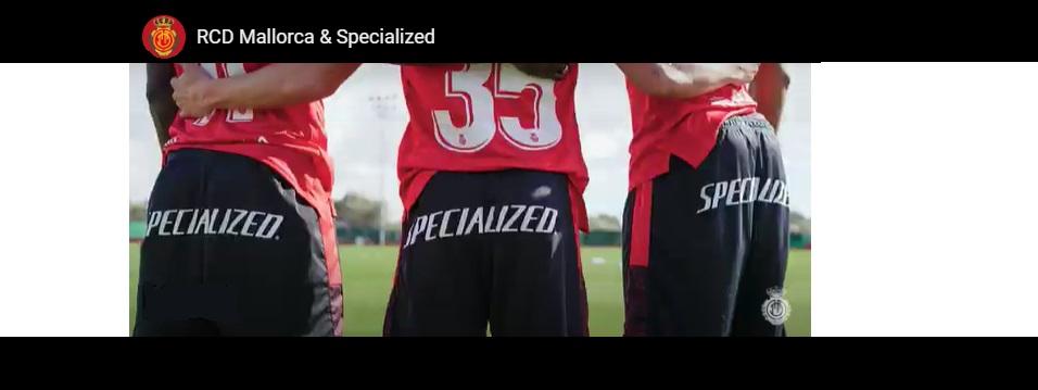 Specialized arriva al calcio sponsorizzando l'RCD Mallorca