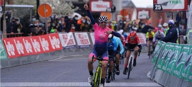 Chiara Consonni vince la prima edizione della Ronde de Mouscron in Belgio