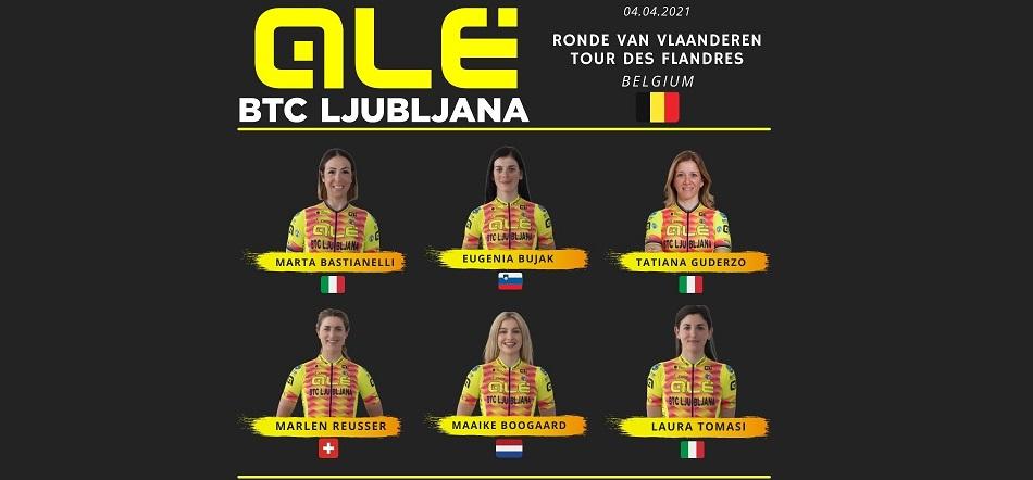 Alé BTC Ljubljana: scocca l'ora del Giro delle Fiandre