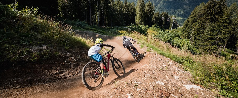 Sabato 5 giugno è prevista l'apertura del Bike Park di Commezzadura (Credits: Giacomo Podetti)