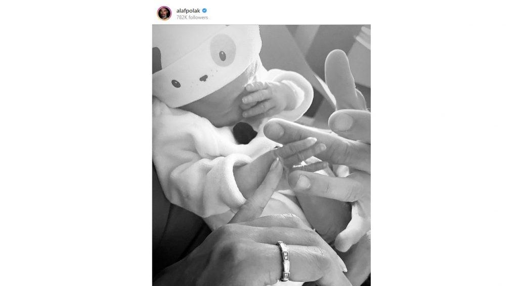 Julian Alaphilippe diventa padre (fonte pagina Instagram)