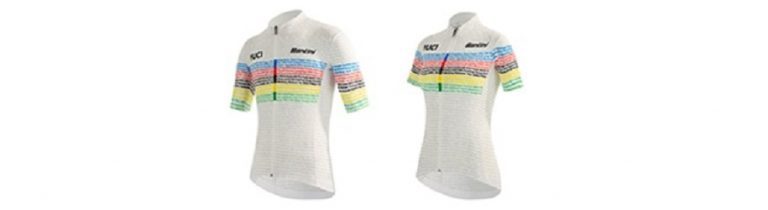 UCI festeggia 100 anni dei Mondiali su strada e Santini li celebra con una collezione speciale