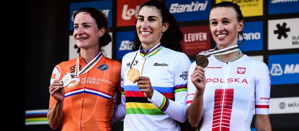 Elisa Balsamo Campionessa del Mondo /credits: Twila Muzzi)