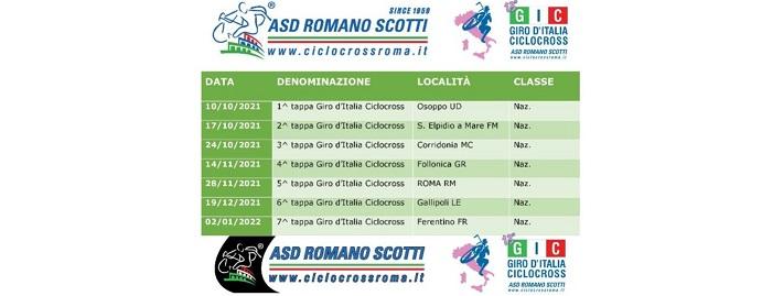 GIRO ITALIA CICLOCROSS 2021