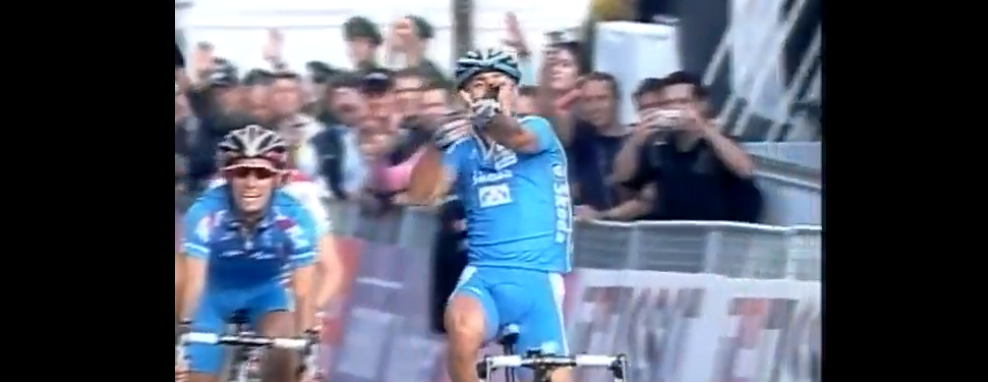 Paolo Bettini Campione del Mondo a Stoccarda 2007