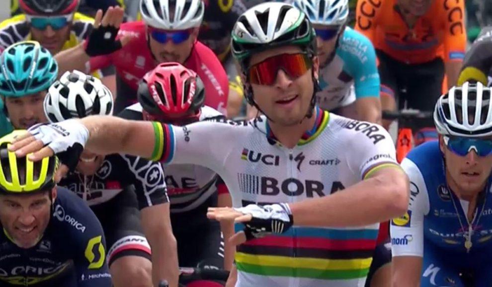 Peter Sagan vince a Cevio