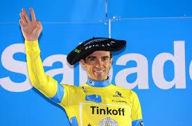 Vuelta Ciclista al Pais Vasco 2018: Contador sul palco