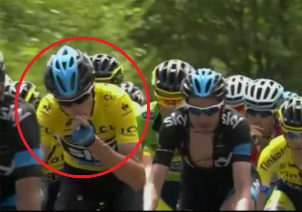 Froome problema renale?
