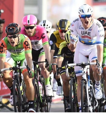 Kristoff vince, Guardini convince