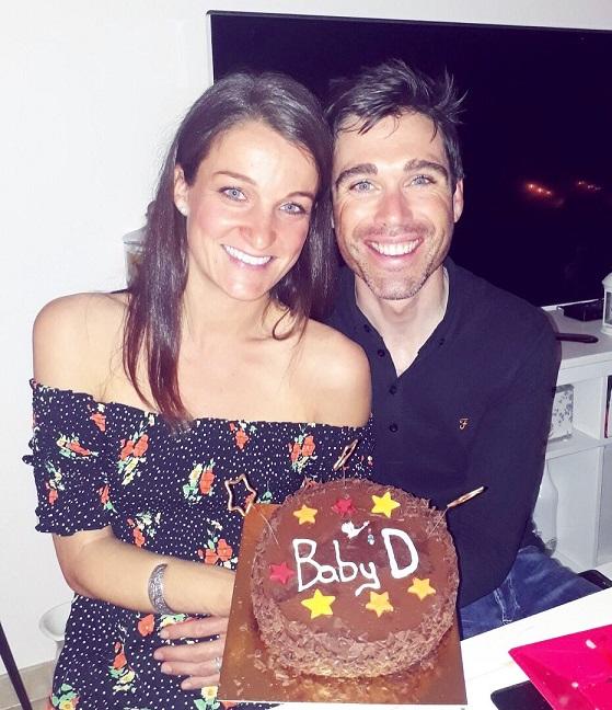 Lizzie Deignan e il marito Philip