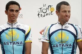 Astana: Contador e Armstrong
