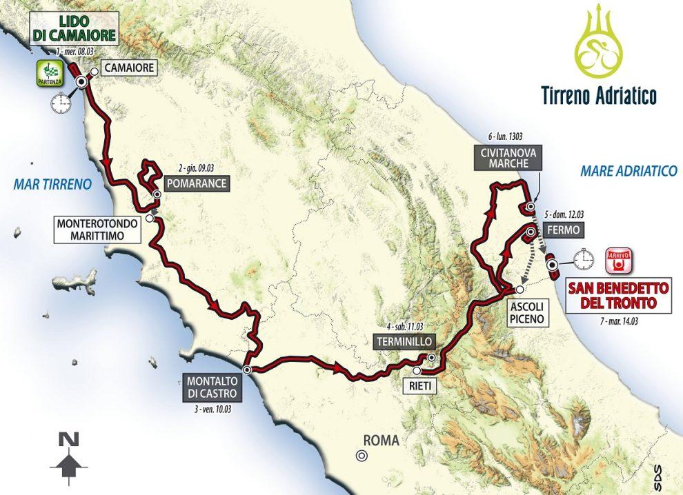Scommesse Tirreno Adriatico