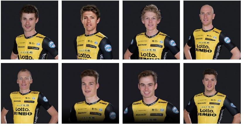 Lotto NL Jumbo al Giro