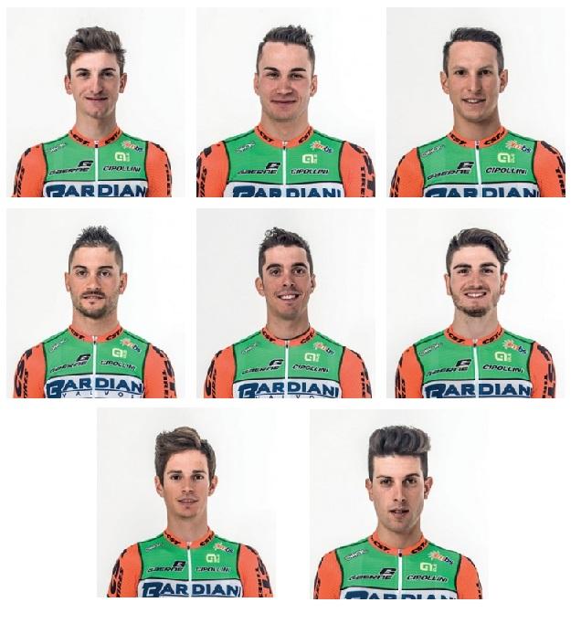Bardiani-CSF al Giro d'Italia