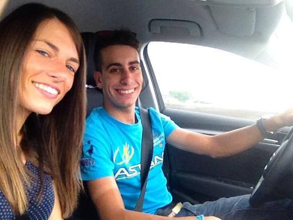 Valentina Bugnone e Fabio Aru