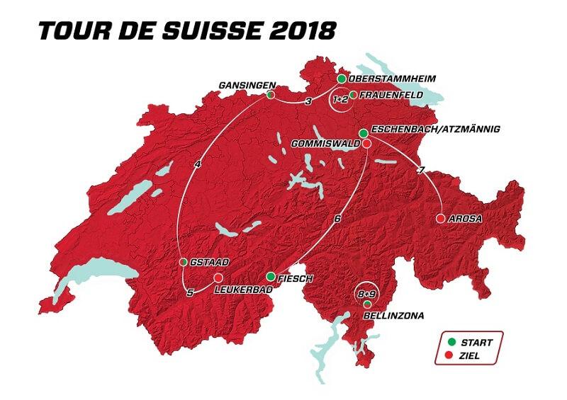 Giro di Svizzera 2018