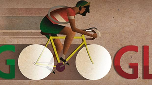 Doodle: Google omaggia Bartali